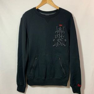 Nike Black Pullover Crew Neck Sweater